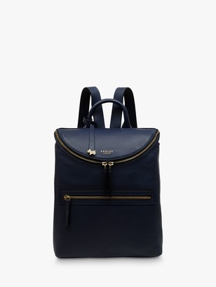 Radley Crown Hill Medium Leather Zip Top Backpack