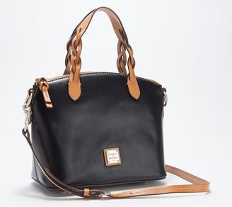 Dooney & Bourke Smooth Leather Heidi Satchel