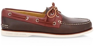 Sperry Gold Cup Two-Tone Leather Boat Shoes