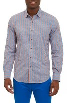 Robert Graham Men's Deen Tailored Fit Sport Shirt