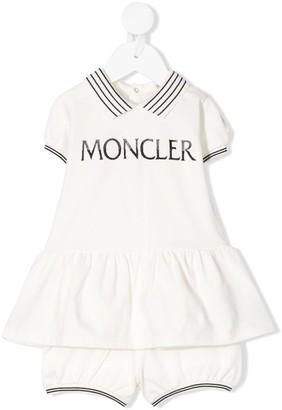 Moncler Enfant Logo Print Tracksuit Set