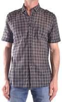 Neil Barrett Men's Multicolor Cotton Shirt.