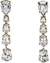 Christian Dior Crystal Drop Earrings