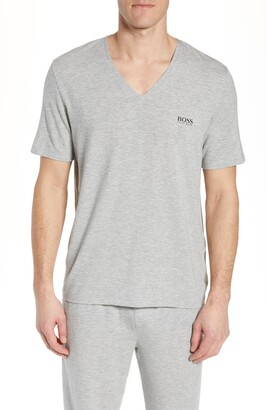 HUGO BOSS Regular Fit V-Neck T-Shirt