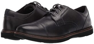 Nunn Bush Ridgetop Cap Toe Oxford (Charcoal) Men's Shoes