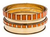 Chan Luu Painted Bangle Bracelets - Set of Four