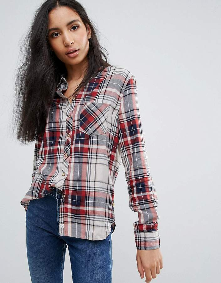 Pepe Jeans Pepe Jeanes Ines Check Shirt