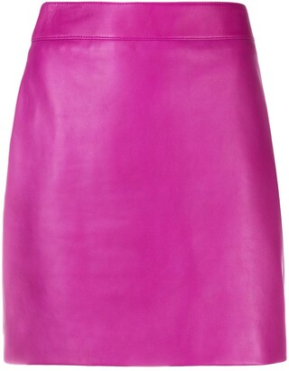 Saint Laurent Mini Fitted Skirt