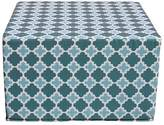 Furniture Runway Ottomans & Floor Cushions Hielo Outdoor Cube Ottoman, Sunshine