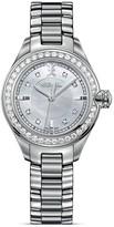 Ebel Onde Stainless Steel Diamond Studded Watch, 30mm