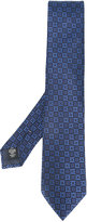 Ermenegildo Zegna contrast patterned tie - men - Silk - One Size