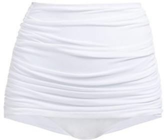 Norma Kamali Bill High-rise Bikini Briefs - Womens - White