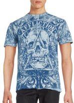 Affliction White Noise Short Sleeve T-Shirt