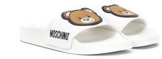 MOSCHINO BAMBINO Teddy Bear slides