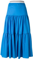 Twin-Set flared maxi skirt