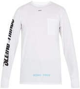Off-White Photocopy-print cotton-jersey T-shirt