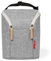 Skip Hop Grab and Go Double Bottle Bag, Grey Melange