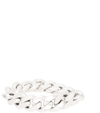 Bottega Veneta Sterling Silver Chain Bracelet - Womens - Silver