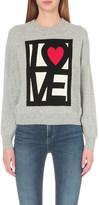 Love Moschino Love Heart knitted jumper