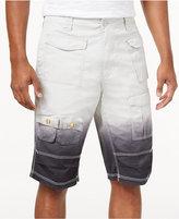 "Sean John Men's Ombre Flight Cargo 12.5"" Stretch Shorts, Created for Macy's"
