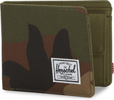 Herschel Roy canvas camouflage-print RFID wallet