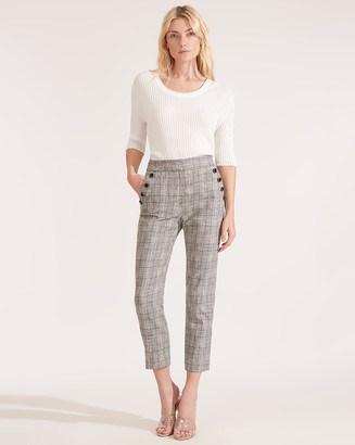Veronica Beard Friedman Plaid Pant