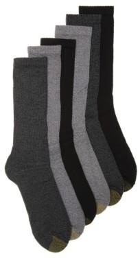 Gold Toe Harrington Men's Crew Socks - 6 Pack
