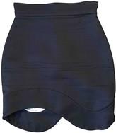 Antonio Berardi Black Silk Skirt for Women
