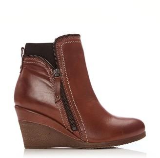 Moda In Pelle Ameelia Tan Leather