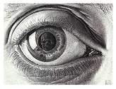 The Poster Corp Eye, c.1946 Poster Print by M.C. Escher (14 x 11)