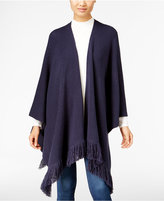 Style&Co. Style & Co. Petite Fringe Poncho Cardigan, Only at Macy's