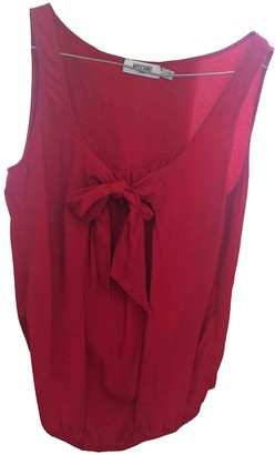Moschino Red Silk Top for Women