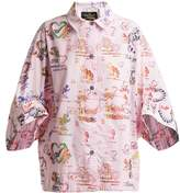 Vivienne Westwood Grateful-print cotton shirt