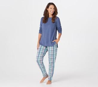 Cuddl Duds Comfortwear Jogger Pajama Set