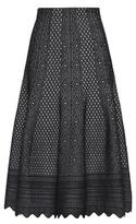 Alexander McQueen Jacquard midi skirt