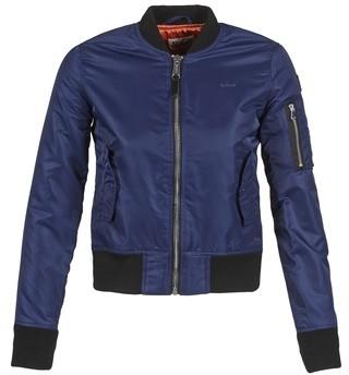 Schott BOMBER BY women's Jacket in Blue