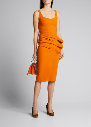 Chiara Boni Majel Side-Shirred Tank Dress