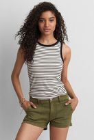 American Eagle Outfitters AE Soft & Sexy Ribbed Tomgirl Tank