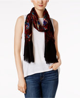 INC International Concepts Peacock Wrap & Scarf in One, Only at Macy's