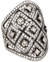 Ring 18K Jenny Perl Diamond Shield