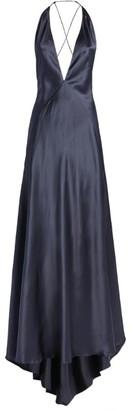 Michael Lo Sordo Silk Alexandra Gown