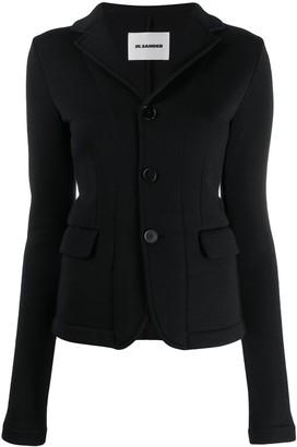 Jil Sander short button-up jacket