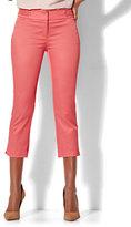 New York & Co. 7th Avenue Pant - Crop Straight Leg - Modern - Twill