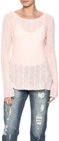 Claudia nichole Cashmere Cable Knit Pullover