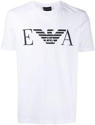 Emporio Armani printed logo T-shirt