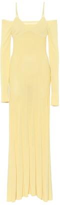 Jacquemus La Robe Maille Valensole maxi dress