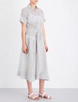 Lisa Marie Fernandez Polka dot cotton shirt dress
