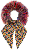 Etro tie-front scarf
