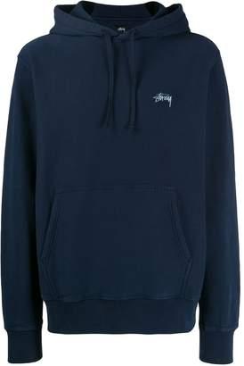 Stussy logo detail hoodie