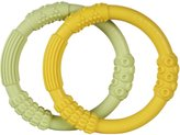 Lifefactory Teether - Yellow/Spring Green - 3+ Months - 2